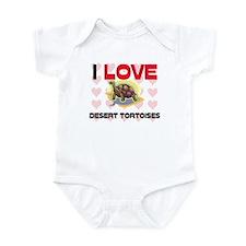 I Love Desert Tortoises Infant Bodysuit