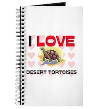 I Love Desert Tortoises Journal