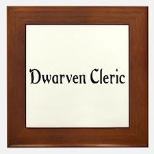 Dwarven Cleric Framed Tile