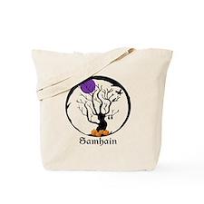 Samhain Tree Tote Bag