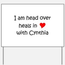 Cute Cynthia Yard Sign