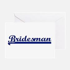 Bridesman Greeting Card