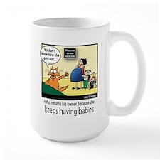 Keeps Having Babies Mug
