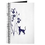 Dark Flowers 'N' Kitty Design Journal