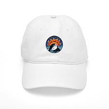 Full Moon Sunset Baseball Cap