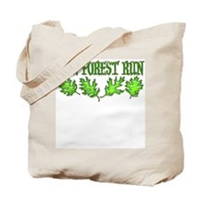Run Forest Run! Tote Bag