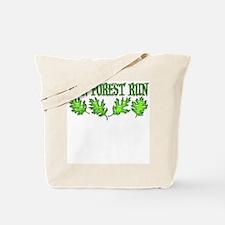 Run Forest Run! Tote Bag