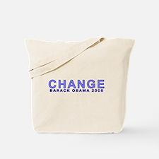 Baby Blue CHANGE Tote Bag