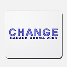 Baby Blue CHANGE Mousepad