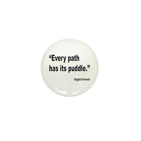 Every Path English Proverb Mini Button
