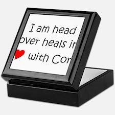 Funny I love cory Keepsake Box