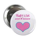 BABY GIRL Button