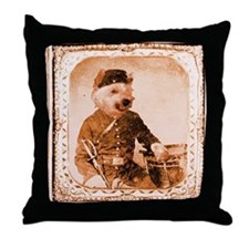 Westie TWITCH Throw Pillow
