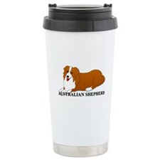 Australian Shepherd Dog Travel Mug