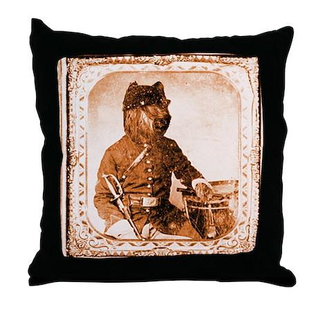 Briard TWITCH Throw Pillow