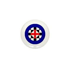 MOD Target England Mini Button (100 pack)