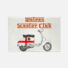 WOLVES SCOOTER CLUB Rectangle Magnet