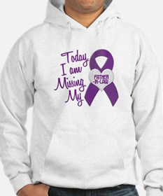Missing My Father-In-Law 1 PURPLE Hoodie