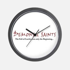 Demons & Saints Wall Clock