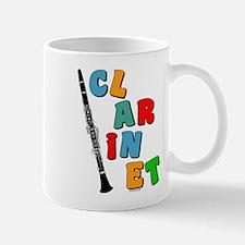Colorful Clarinet Mug
