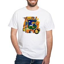 Scrapbook Weimaraner Halloween Shirt