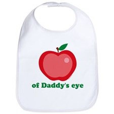 Apple of Daddy's Eye Bib