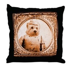Dandie Dinmont BUBBA Throw Pillow