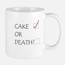 Cake or Death Mugs