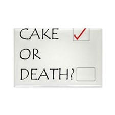 Cake or Death Magnets