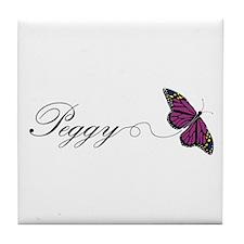Peggy Tile Coaster