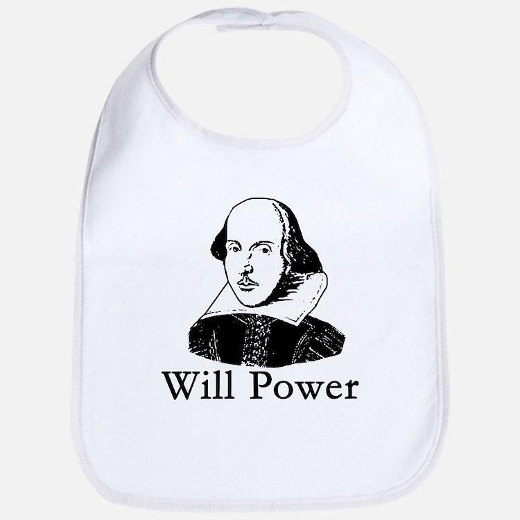 William Shakespeare WILL POWER Bib