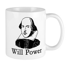 William Shakespeare WILL POWER Mug
