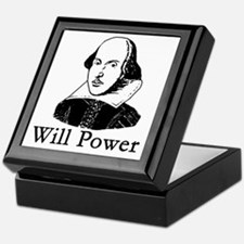 William Shakespeare WILL POWER Keepsake Box