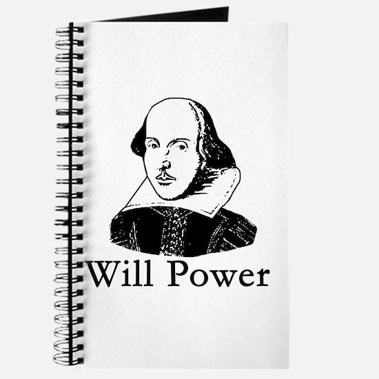 William Shakespeare WILL POWER Journal