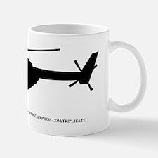Black UN Helicopter Mug
