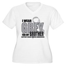 Brain Cancer: Grey For Brother T-Shirt