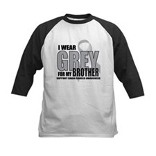 Brain Cancer: Grey For Brother Tee