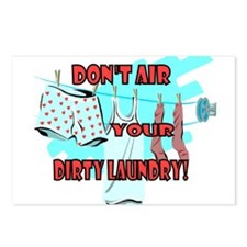 Dirty Laundry Postcards (Package of 8)