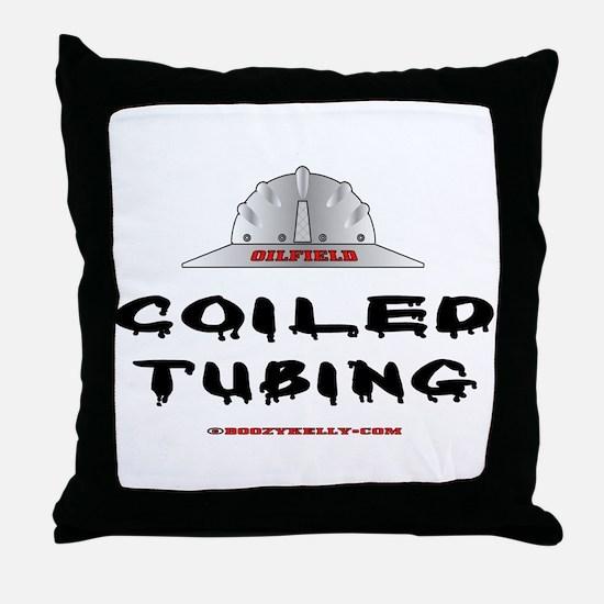 Coiled Tubing Throw Pillow