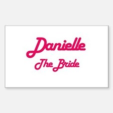 Danielle - The Bride Rectangle Decal
