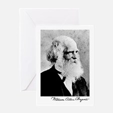 William Cullen Bryant Greeting Card