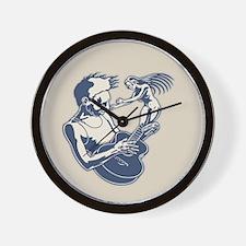 Blues Muse Wall Clock