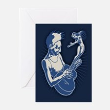 Blues Muse Greeting Cards (Pk of 10)