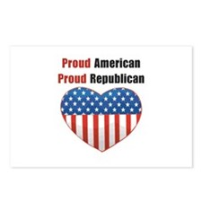 Proud American Proud Republic Postcards (Package o