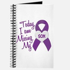 Missing My Son 1 PURPLE Journal
