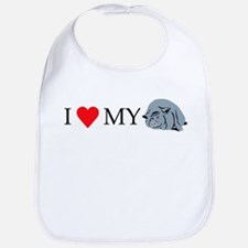 I Love My Pot Bellied Pig 2 Bib