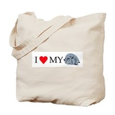 I Love My Pot Bellied Pig 2 Tote Bag
