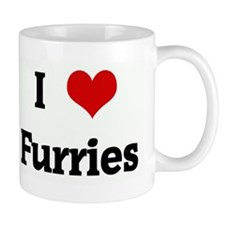 I Love Furries Mug