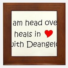 Funny Deangelo Framed Tile