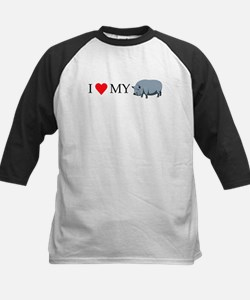 I Love My Pot Bellied Pig (1) Tee